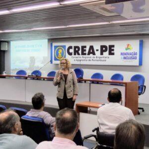 A acessibilidade, sua aplicação, benefícios e normativos foram discutidos no Terça no Crea