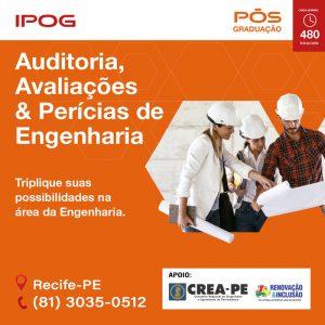 PRAEVI | IPOG oferece Pós-Graduação em Auditoria, Avaliações e Perícias de Engenharia