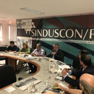 Presidente do Crea-PE participa de reunião no Sinduscon-PE