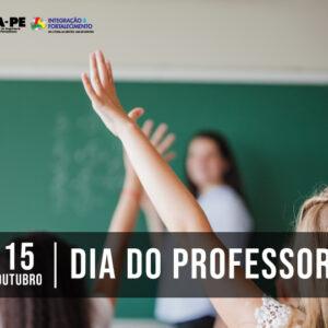 O Crea-PE homenageia os professores responsáveis pelo futuro da Nação