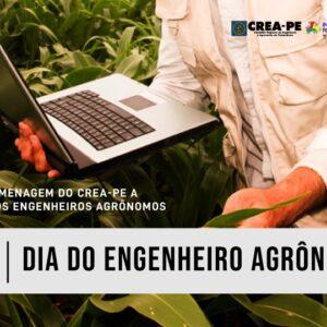 Crea-PE celebra o Dia do Engenheiro Agrônomo