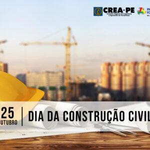 Crea-PE homenageia o Dia da Construção Civil