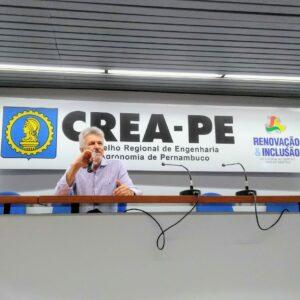 Palestra do Terça no Crea foi feita pelo presidente da Sobrea