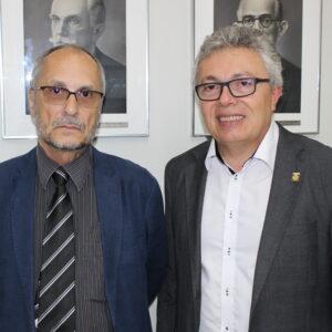 Evandro Alencar foi anfitrião da CPRM no evento de lançamento de novos produtos do Serviço Geológico
