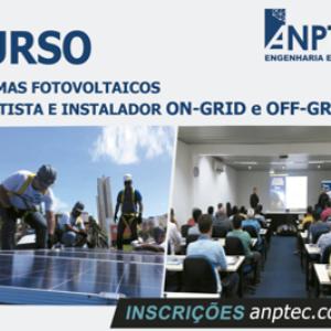 Anptec Engenharia e Projetos inscreve para curso de Sistemas Fotovoltaicos em Caruaru
