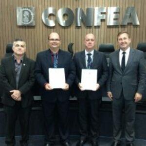 Novos Conselheiros Federais Pernambucanos são empossados na sede do Confea, em Brasília