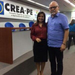 Novembro Azul: Crea-PE realiza, em parceria com o CONPEJ, ação de conscientização sobre o Câncer de Próstata