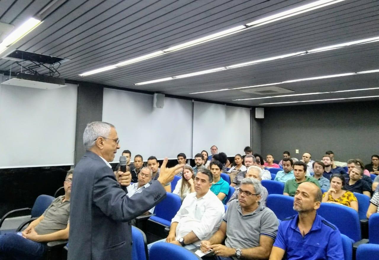 Read more about the article José do Patrocínio Figuerôa faz palestra no Terça no Crea