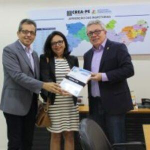 Crea-PE faz entrega de Relatórios da Mata Sul ao Governo do Estado