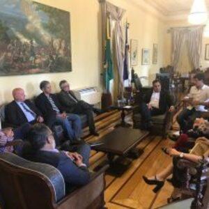 Em visita ao Governador do Estado, presidente do Crea-PE discute recriação da Secretaria de Recursos Hídricos
