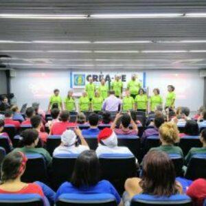 Celebração dos aniversariantes do mês traz apresentação do Coral da Chesf Recife ao auditório do Crea-PE