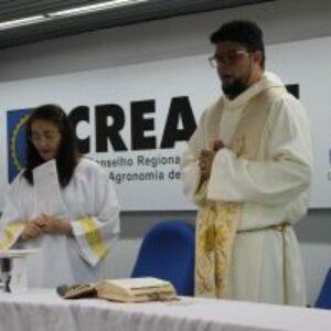 Missa de Ação de Graças marca novo ano de trabalho no Crea-PE