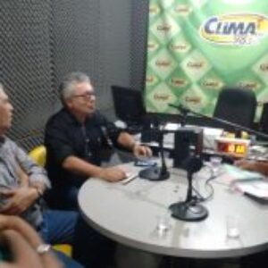 Em Gravatá, presidente do Conselho concede entrevista à radio e visita Estação de Tratamento da região