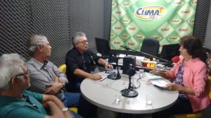 Read more about the article Em Gravatá, presidente do Conselho concede entrevista à radio e visita Estação de Tratamento da região