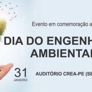 Associação dos Engenheiros Ambientais e Sanitarista de Pernambuco (AEAMBSPE) comemora Dia do Engenheiro Ambiental
