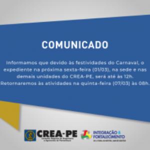COMUNICADO EXPEDIENTE CARNAVAL!