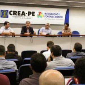 Crea-PE recebe representantes dos Creas que trabalham utilizando o Sitac