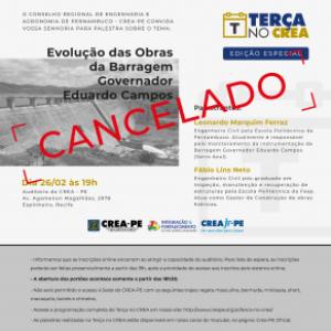 NOTA DE CANCELAMENTO TERÇA NO CREA 26/02