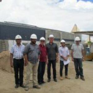 Presidente Evandro Alencar faz visita de acompanhamento da obra da Inspetoria de Araripina