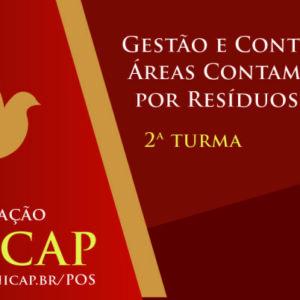 Curso em Gestão e Controle de Áreas Contaminadas por Resíduos Sólidos – 2ª turma UNICAP
