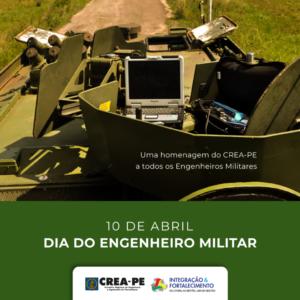 DIA DO ENGENHEIRO MILITAR