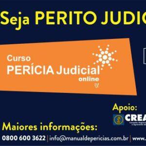Curso Perícia Judicial Online é na Rui Juliano