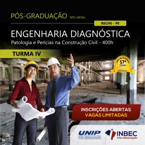 INBEC está com nova turma para o Curso de Pós-Graduação em Engenharia Diagnóstica – Turma IV