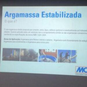 O uso da Argamassa Estabilizada foi assunto do projeto Terça no Crea dessa semana