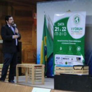 Presidente da AEAMBS-PE faz palestra sobre Gestão Ambiental e Sustentabilidade no V Fórum de Líderes pela Sustentabilidade
