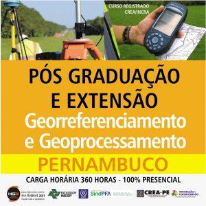 HG2 OFERECE CURSO DE PÓS-GRADUAÇÃO E EXTENSÃO EM GEORREFERENCIAMENTO E GEOPROCESSAMENTO