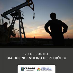 Parabéns do Crea-PE aos engenheiros de Petróleo