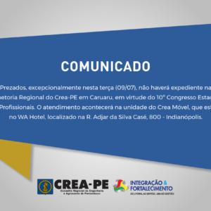 Atendimento na Regional de Caruaru durante reunião preparatória do CEP