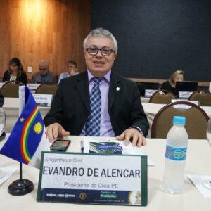 Presidente Evandro Alencar participa de reunião do CP em Aracaju