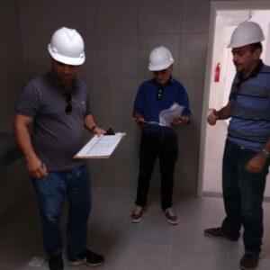 Comissão composta por conselheiros do Crea-PE faz vistoria na obra da nova Inspetoria de Araripina