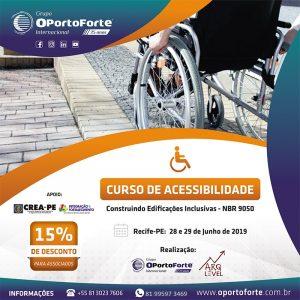 CURSO DE ACESSIBILIDADE – CONSTRUINDO EDIFICAÇÕES INCLUSIVAS – NBR 9050:2015