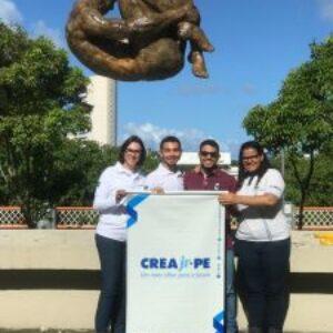 Crea Jr-PE participa da ação de limpeza do Rio Capibaribe em comemoração do Dia Mundial do Meio Ambiente