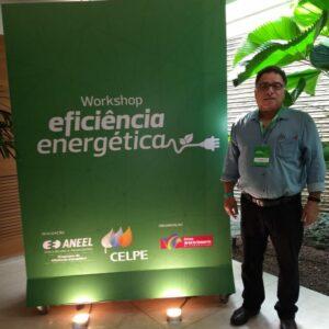 Conselheiro Jarbas Morant representa o Crea-PE no Workshop Eficiência Energética