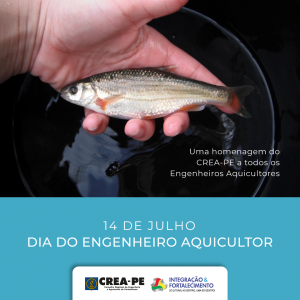 Crea-PE parabeniza os engenheiros aquicultores