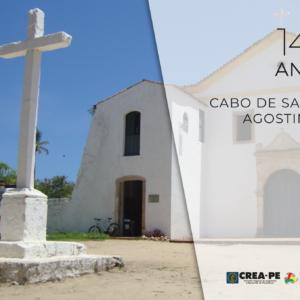 O Crea-PE parabeniza a cidade do Cabo de Santo Agostinho