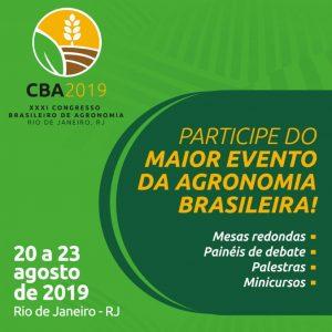 XXXI Congresso Brasileiro de Agronomia
