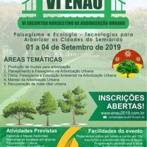 VI Encontro Nordestino de Arborização Urbana