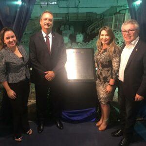 Presidente do Crea-PE, Evandro Alencar, participa do lançamento da Pedra Fundamental da nova sede do CRC-PE