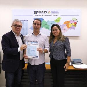 Crea-PE realiza reunião sobre Relatório Técnico da Mata Sul com prefeitura de Ribeirão