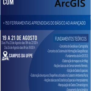 GEOS ESCOLA OFERECE CURSO DE GEOPROCESSAMENTO COM ARCGIS NO RECIFE-PE COM DESCONTO ESPECIAL