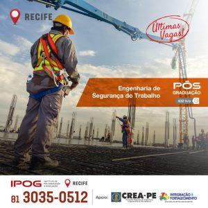 Engenharia de Segurança do Trabalho, uma especialização com a qualidade IPOG