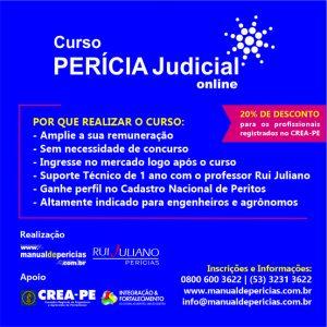 Curso de Perícia Judicial Online com 20% desconto