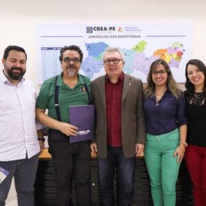 Instituto Brasileiro de Avaliações e Perícias de Engenharia de Pernambuco e Crea-PE firmam parceria