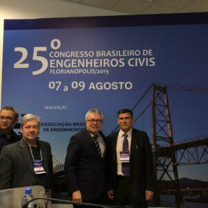 Evandro Alencar participa de congresso nacional em Santa Catarina
