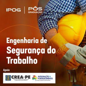 IPOG oferece curso de especialização em engenharia de segurança do trabalho com desconto