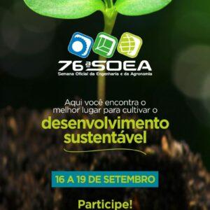 76ª Semana Oficial da Engenharia e da Agronomia (SOEA)
